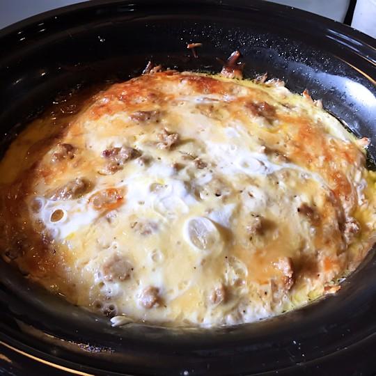 Easy Crock Pot Breakfast Casserole Recipe