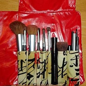 makeup brush roll  diy  my happy crazy life