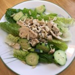 Healthy Chicken Salad Recipe with Almonds