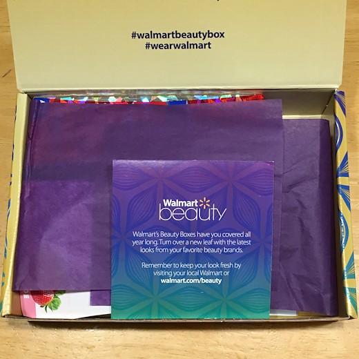 Walmart Beauty Box - Fall 2016 - My Happy Crazy Life