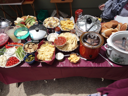 Graduation - Buffet