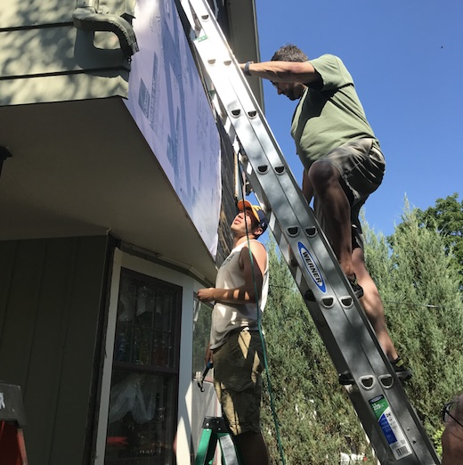 Men on Ladders